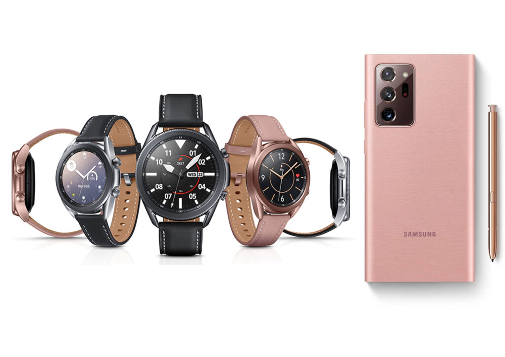 Watch 3 & Note 20 Ultra